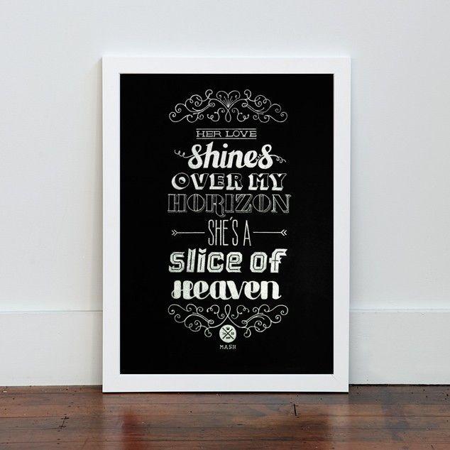Chalk it Up Print by Mash