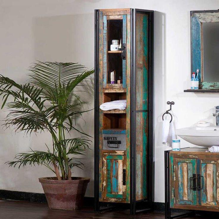 Die besten 25+ Bad unterschrank holz Ideen auf Pinterest - badezimmer aus holz