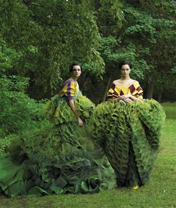 Honeycomb Couture.  Must find out who, where, when, and why of these dresses...amazing.