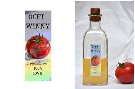 Ocet z pomidorów - brdzo aromatyczny ocet winny - to świetna przyprawa o zapachu lata. Ocet ma słomkowy kolor, likopen nie rozpuszcza się w wodzie.