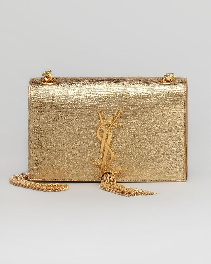 black ysl clutch - Saint Laurent YSL Gold Tassel clutch #YSL | Bag Lady | Pinterest ...