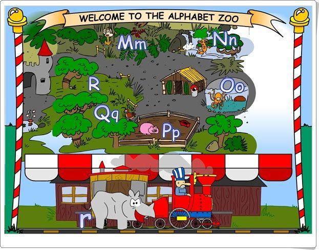 """""""The Alphabet Zoo"""" (Abecedario en Inglés)"""