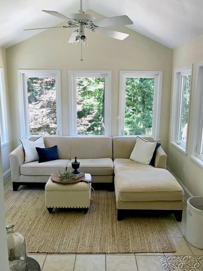 Small Sunroom Decorating Ideas On A Budget Just By Adding New