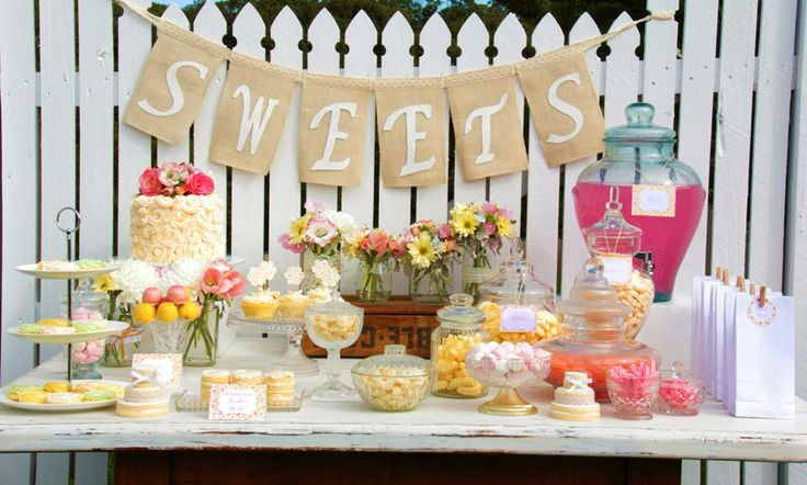Love this set up. -Styled By- Rahenna's Floral Design, Sweet Sister Cookies & Sweet Treats, Paper Blossom Creations, Sweets & Tea, photos by Brad Razz Photography