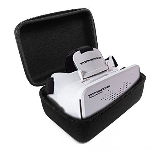 FitSand TM Travel Carrying Zipper Portable Protective Hard Case Cover Bag for Topmaxions 3D VR Virtual Reality Headset Glasses *** Details can be found by clicking on the image.Note:It is affiliate link to Amazon.