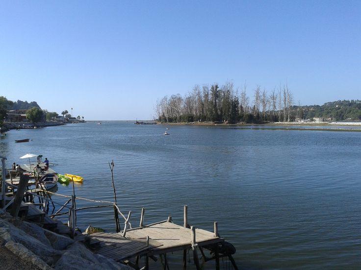 Desembocadura rio maule