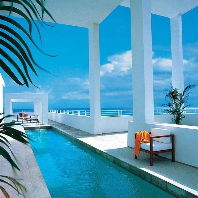 Luxurious digs at the Shore Club in Miami Beach, Florida. @morgansoriginals