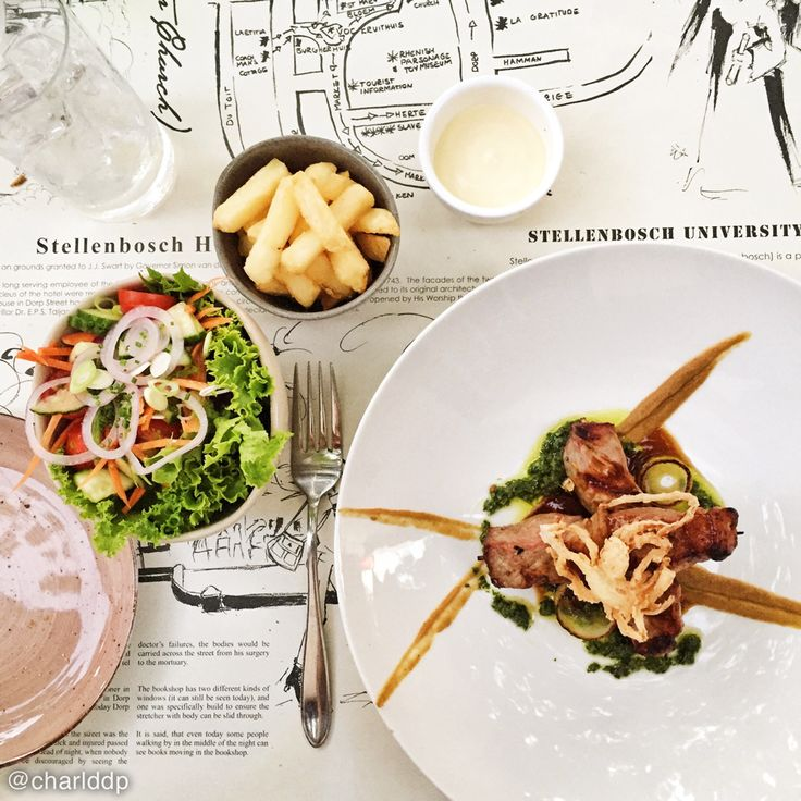 Delicious kebabs at the new Stellenbosch Kitchen // Food photography by http://instagram.com/charlddp
