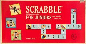 Antiquité 1964. Collection. Jeu de Scrabble pour juniors. USA