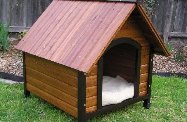 Dog House Plans For Husky Breed Of Dog Rumah Anjing Kennel Anjing Anjing Plans for a small dog house