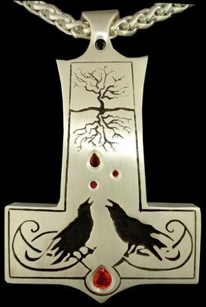 Mjölnir, Huginn & Muninn, Yggdrasil