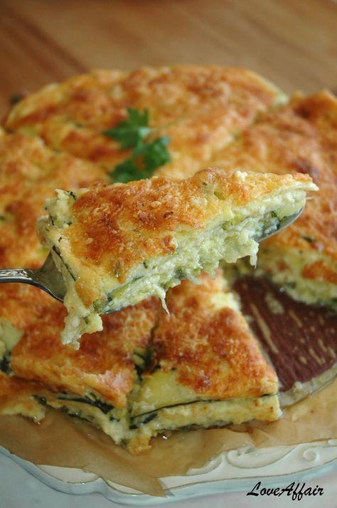 ... LoveAffair …: Lazanje Torta od Tikvica - Zucchini Lasagna Cake