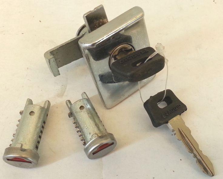 kit SERRATURA blocchetto piaggio vespa PX per bauletto anteriore + 2 serrature