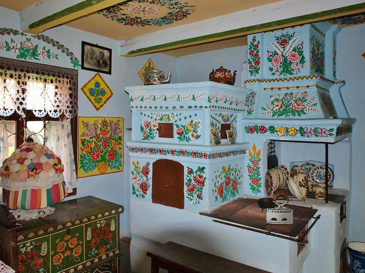 Coloridas e em estilo floral, casas de Zalipie, na Polônia são pintadas à mão. Leia na HAUS, da Gazeta do Povo.