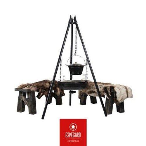 Birkebeiner Bålpanne 60 cm