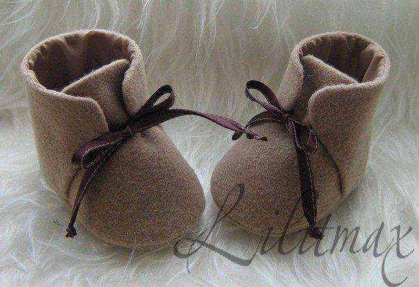 Мягкие ботиночки для малыша