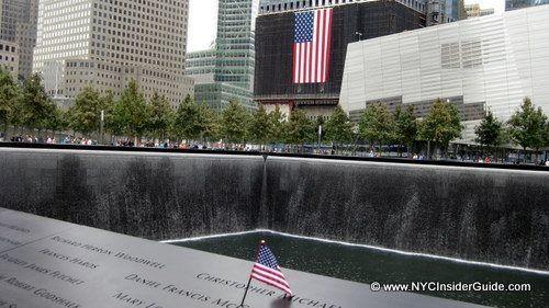 9-11 Memorial at Ground Zero