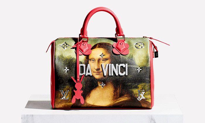 Jeff Koons navrhl pro Louis Vuitton kolekci Masters