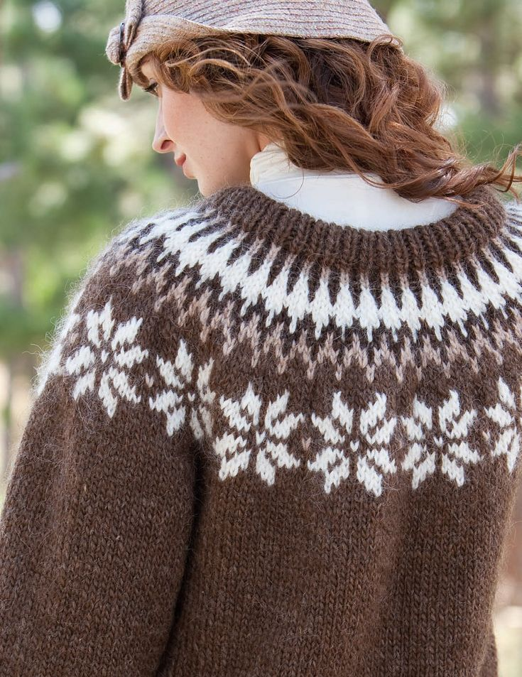 Ravelry: Unnur Icelandic Pullover pattern by Lucinda Guy