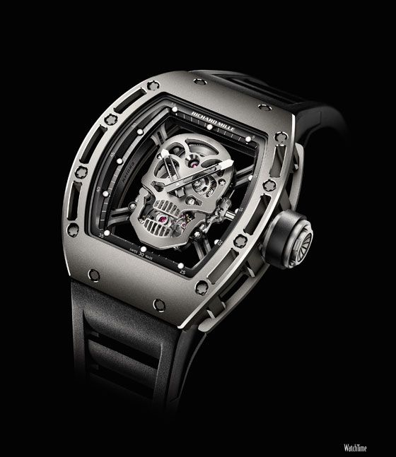 Richard Mille's RM 052 Skull is a limited edition of 21 watches. The watch had a price of $500,000