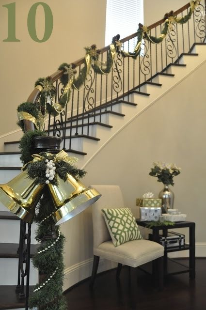 42 best Decorating Your Stairs for the Holidays images on ...