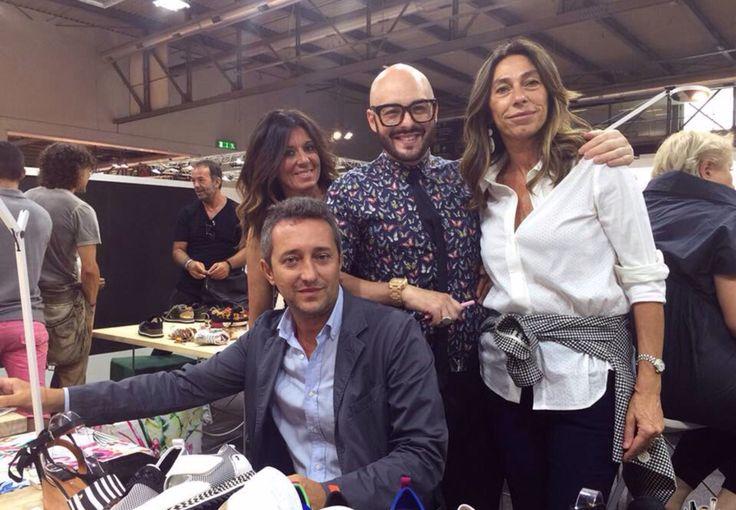 MICAM settembre 2016 Io Sabrina di POSH ALBENGA Stewe di RUNWAY Torino E Silvia Borsari
