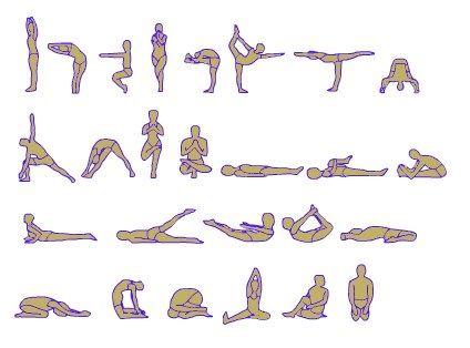 38 best images about yoga exercises on pinterest  yoga