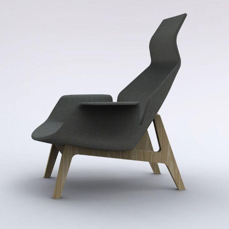 jeanmarie massaud lounge chair for poliform