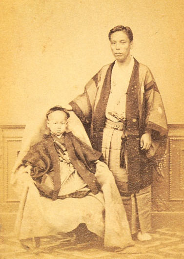 松平茂昭 Matsudaira Mochiaki. Edo-era/Meiji-era 1836-1890.越前福井藩第17代藩主。維新後福井藩知事・侯爵。