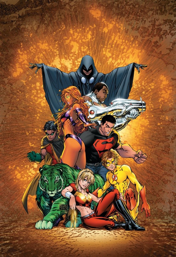 Teen Titans Vol.3 #1 (Cover art by Michael Turner)