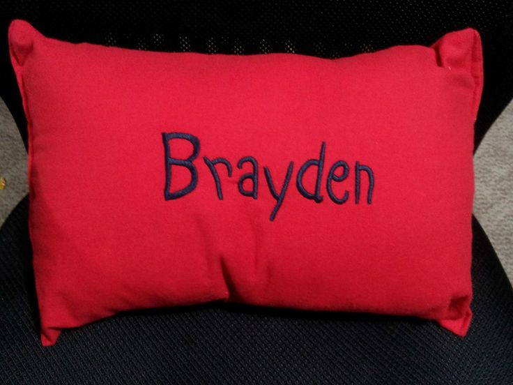 Hand Made Decor Or Toddler Pillow Choice Of Solid Color Kids Travel Pillow