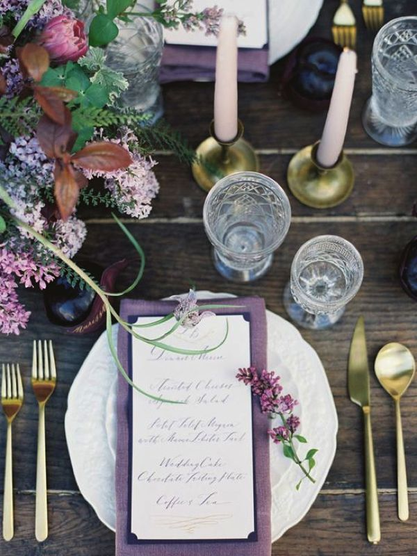 Hot new wedding trend: Ultra violet – Pantone colour of the year 2018