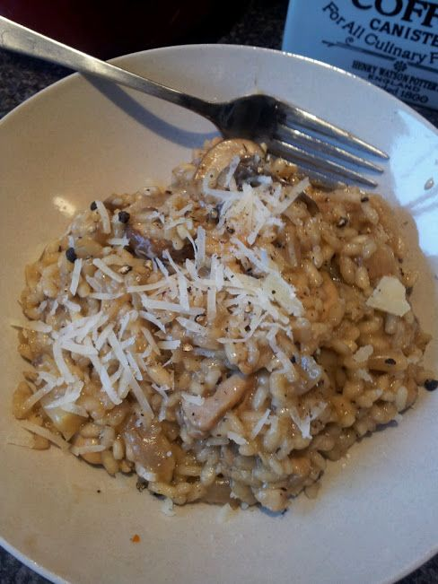 My Slimline Recipe Book: Chicken and Mushroom Risotto