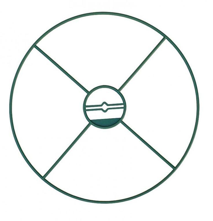 Podporné kruhy 40 cm, zelené, 3 ks  - 1