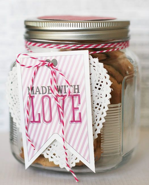 Made with Love gift tag by eighteen25: Crafty Stuff, Gift Ideas, Love Gifts, Valentines Day, Gift Tags, Craft Ideas, Valentine S, Crafty Ideas