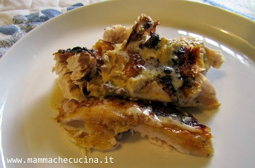 chicken in milk - jamie olivier  http://www.mammachecucina.it/2013/11/meraviglia.html