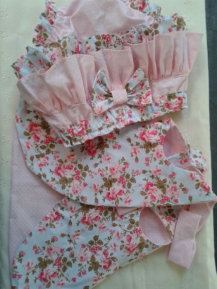 Conjunto de roupinhas para bebês, de 0 a 2 anos...feito tecido 100% algodão, calcinha com forro batinha com uso dos dois lados, podem ser feito nas cores e estampas a escolha clientes.