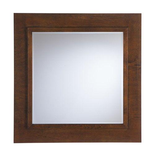Boston Loft Furnishings Drewson Decorative Square Mirror