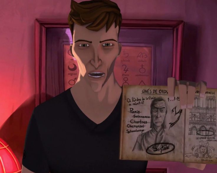 In this screenshot, John is showing his personal notebook where he writes all his investigation progress and memories.