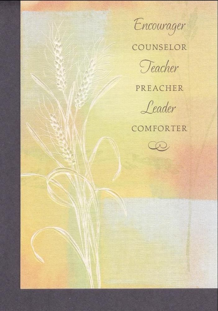 Christian Greeting Card, Pastor &Teacher Appreciation #DaySpring #PreacherTeacher