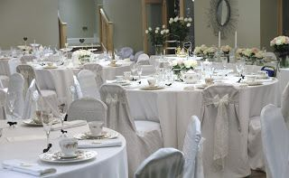 pretty fancy vintage china wedding in The Gower