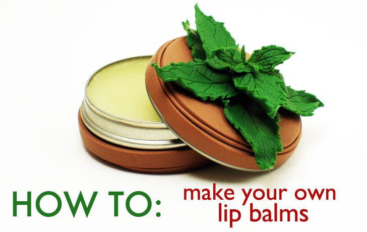 Instead of spending a crazy amount of cash on lip balms, why  not make your own? They're easy-to-make gifts, and you can flavor them to suit anyone's tastes.