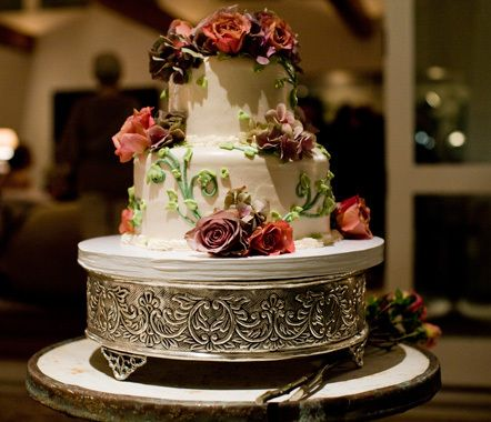 Ellen and Portia's Wedding Cake, Sweet Lady Jane, West Hollywood, California http://www.sweetladyjane.com/  Delicious!!! <3