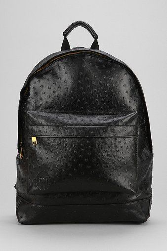 Mi-Pac Gold Ostrich Backpack - Urban Outfitters