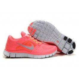 Nike Free Run+ 3 Damesko Rosa Sølv | billig Nike sko | Nike sko norge |