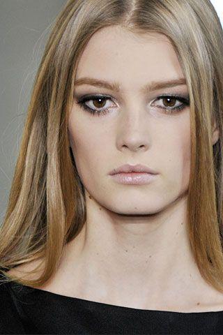 Chanel runway makeup, 2013.