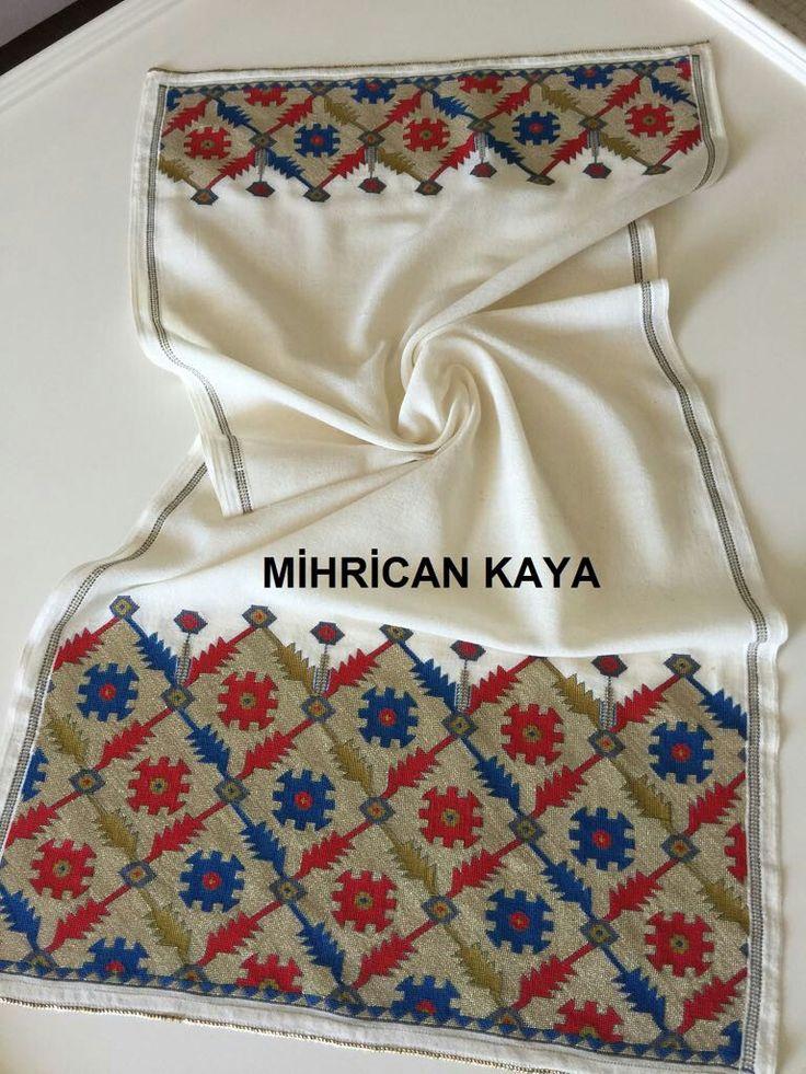 19yy Konya(Selçuklu) Halı deseni.Hesap işi ve muşabak olarak işledim.. #mywork #handmade #embroidery
