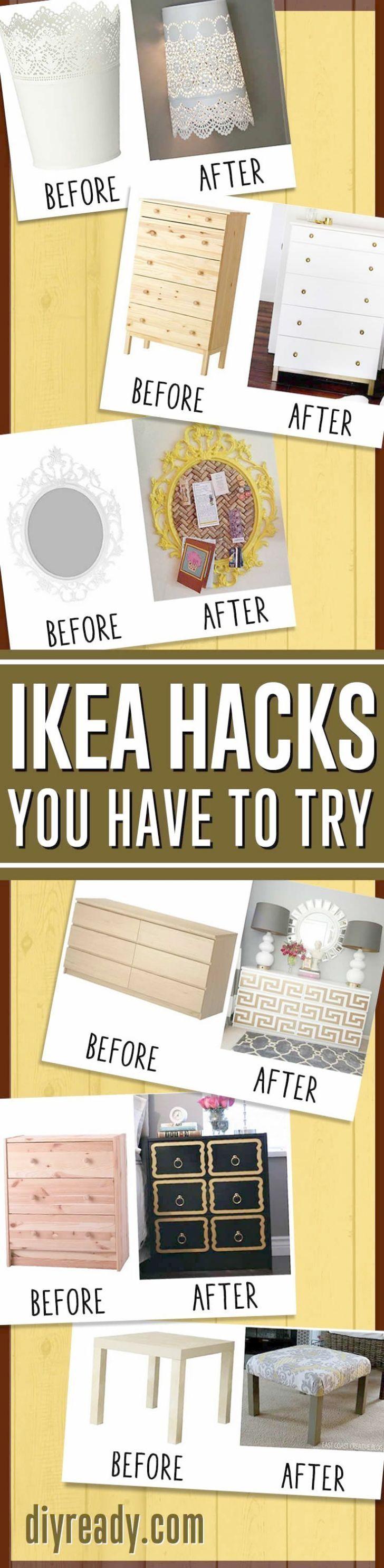 Diy Home Decor Ideas  Ikea Hacks Awesome Home Decor