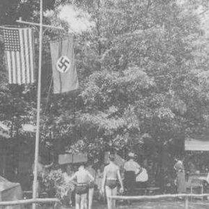 German-American Bund summer camp, Long Island, 1938