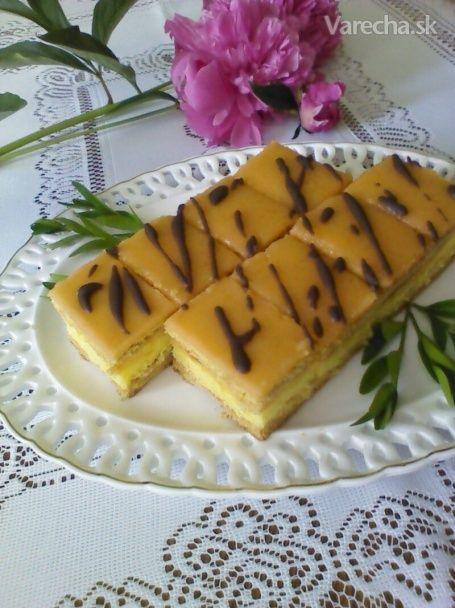 Medovo-pomarančové rezy